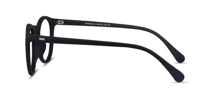 Peninsula Matte Navy Plastic Eyeglass Frames from EyeBuyDirect