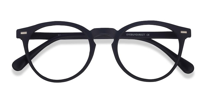 Matte Navy Peninsula -  Geek Plastic Eyeglasses