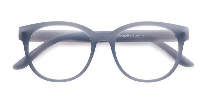 Matte Blue Grace -  Fashion Plastic Eyeglasses