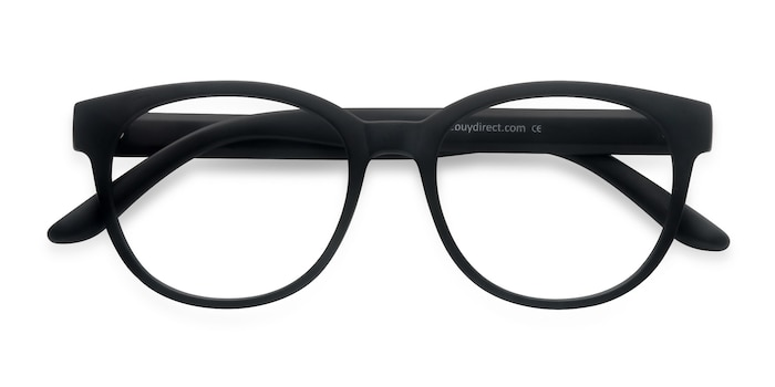 Matte Black Grace -  Fashion Plastic Eyeglasses