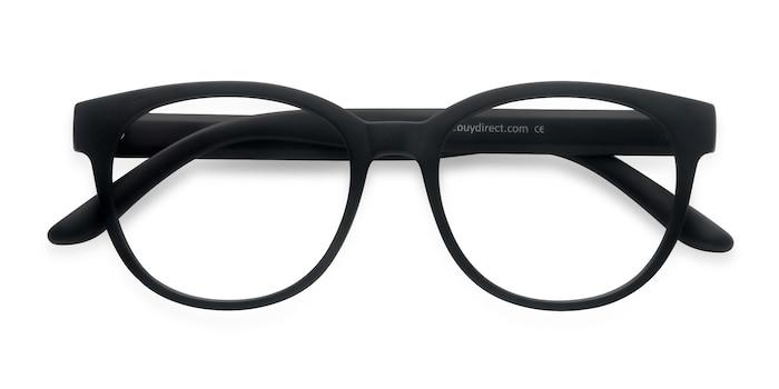 Matte Black Grace -  Plastic Eyeglasses