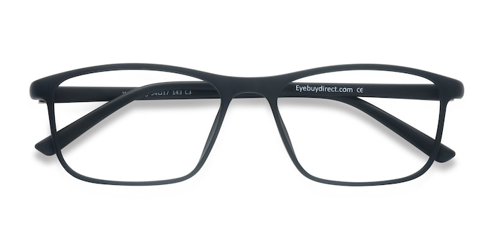 Matte Black Wyoming -  Plastic Eyeglasses