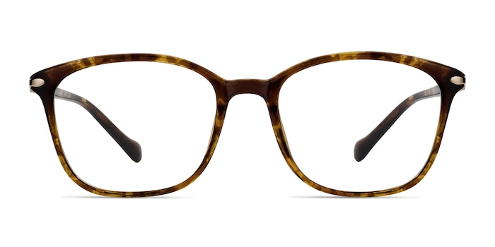 Nola Brown Plastic Eyeglass Frames from EyeBuyDirect