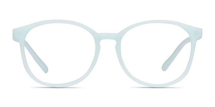 Dutchess Light Blue Plastic Eyeglass Frames from EyeBuyDirect