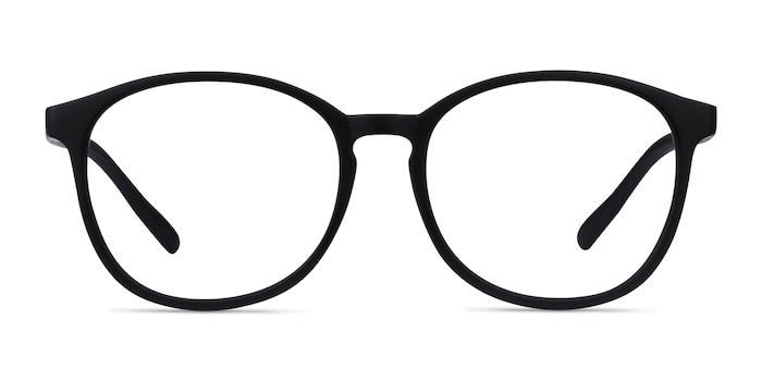 Dutchess Matte Black Plastique Montures de Lunette de vue d'EyeBuyDirect