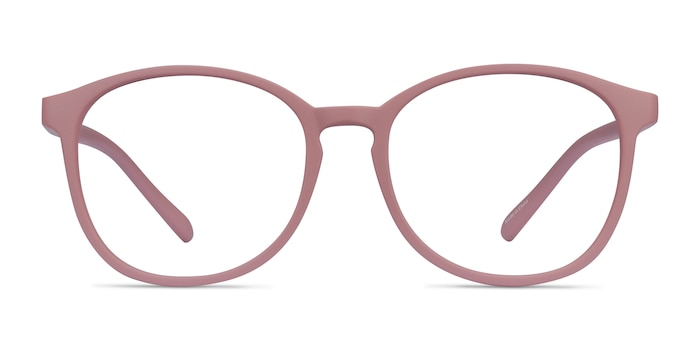 Dutchess Matte Pink Plastic Eyeglass Frames from EyeBuyDirect