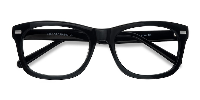 Black  Cage -  Geek Acetate Eyeglasses
