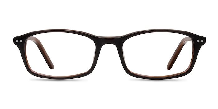 Fallon  Brown  Acetate Eyeglass Frames from EyeBuyDirect