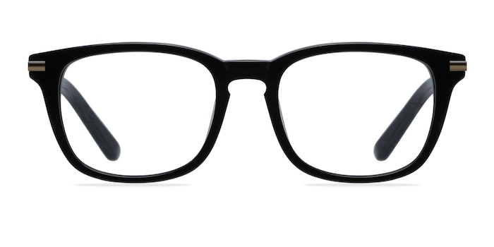 Infinity Black Acetate Eyeglass Frames from EyeBuyDirect