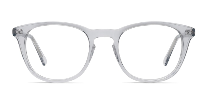 New Day Clear Acetate Eyeglass Frames from EyeBuyDirect