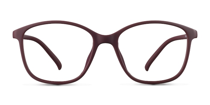 Saint Lou Burgundy Plastic Eyeglass Frames from EyeBuyDirect