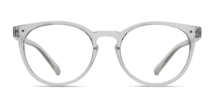 Little Morning Clear Plastic Eyeglass Frames from EyeBuyDirect