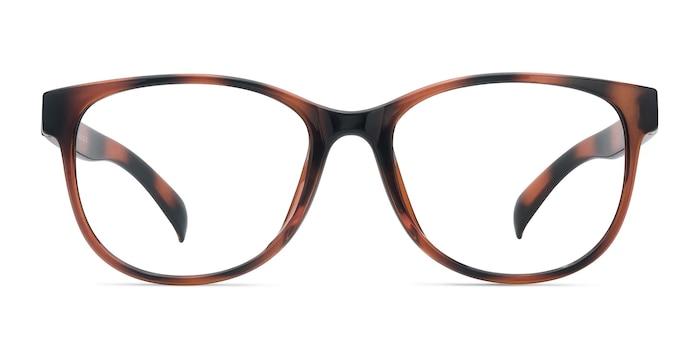 Warren Brown Plastic Eyeglass Frames from EyeBuyDirect