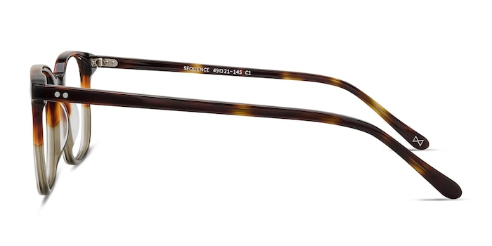 Sequence Charred Quartz Acetate Eyeglass Frames from EyeBuyDirect