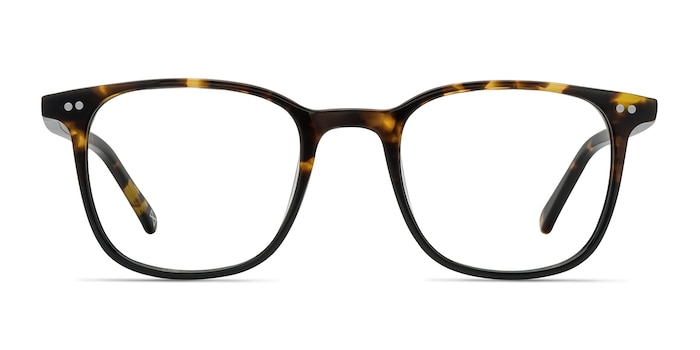 Sequence Amber Tortoise Acétate Montures de lunettes de vue d'EyeBuyDirect