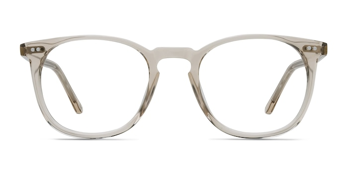 Shade Champagne Acetate Eyeglass Frames from EyeBuyDirect