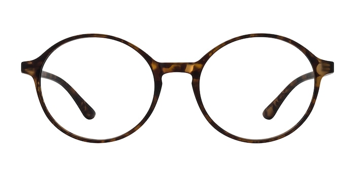 Poetic Matte tortoise Plastic Eyeglass Frames from EyeBuyDirect