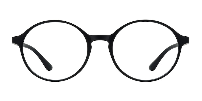 Poetic Matte Black Plastic Eyeglass Frames from EyeBuyDirect