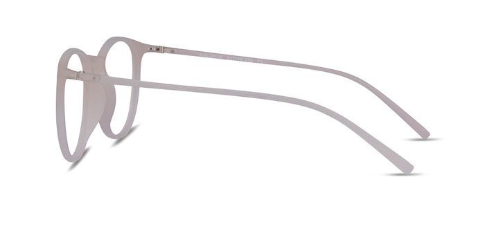 Dialogue Matte Clear Plastic Eyeglass Frames from EyeBuyDirect