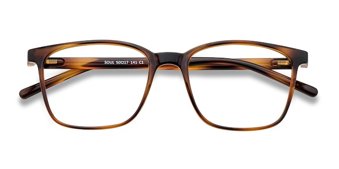 Black Brown Soul -  Lightweight Plastic Eyeglasses