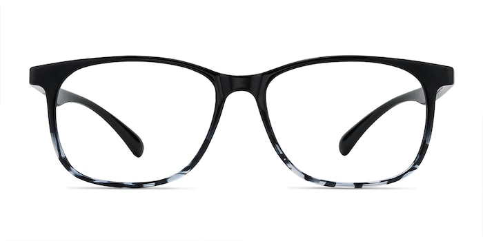 Character Black Navy Plastic Eyeglass Frames from EyeBuyDirect