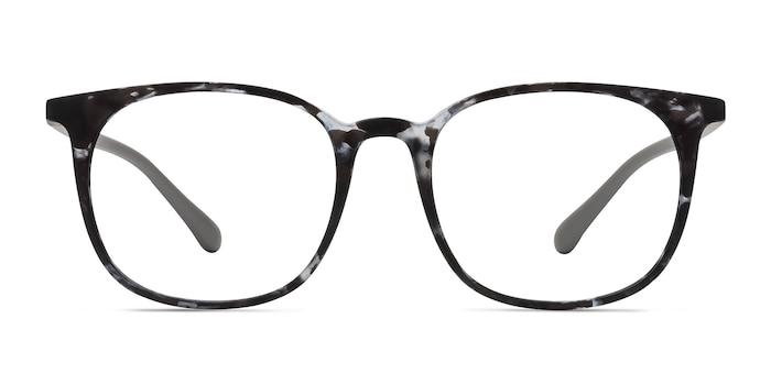 Cheer Swirled Gray Plastic Eyeglass Frames from EyeBuyDirect
