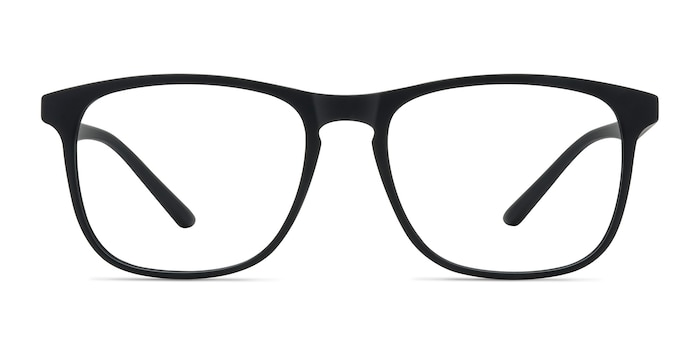 Ghent Matte Black Plastic Eyeglass Frames from EyeBuyDirect