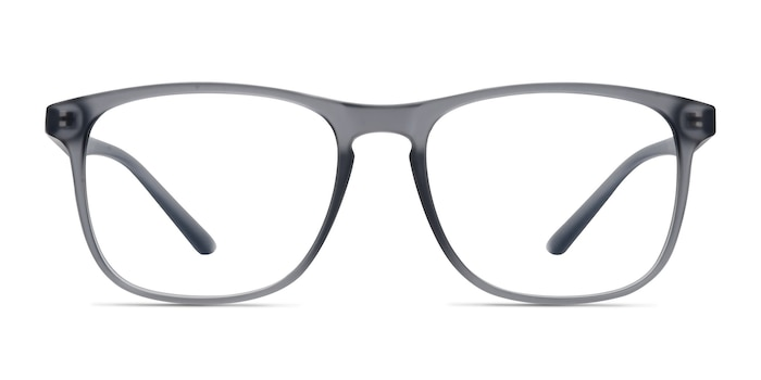 Ghent Matte Gray Plastic Eyeglass Frames from EyeBuyDirect