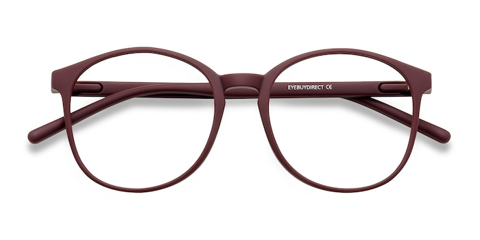 Matte Red Days -  Lightweight Plastic Eyeglasses
