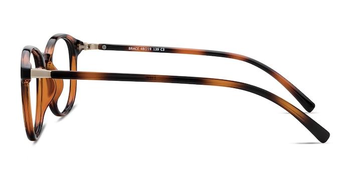 Brace Tortoise Plastic Eyeglass Frames from EyeBuyDirect