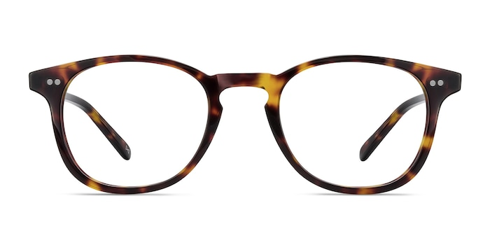 Symmetry Tortoise Acetate Eyeglass Frames from EyeBuyDirect