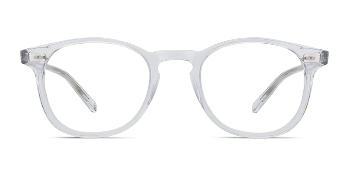Symmetry Translucent Acetate Eyeglass Frames from EyeBuyDirect