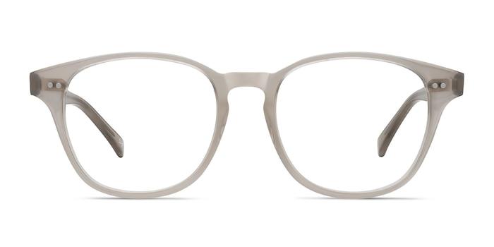 Lucid Clear Gray Acétate Montures de lunettes de vue d'EyeBuyDirect