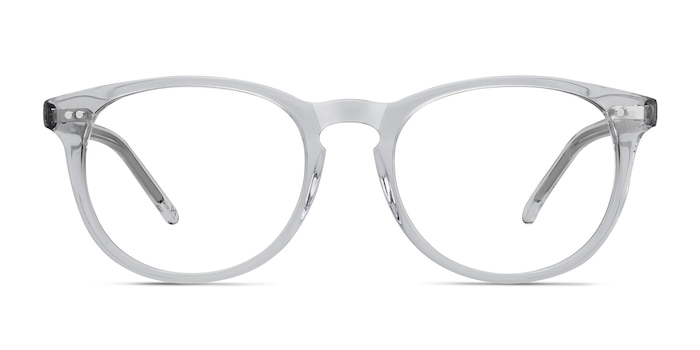 Aura  Translucent Acetate Eyeglass Frames from EyeBuyDirect