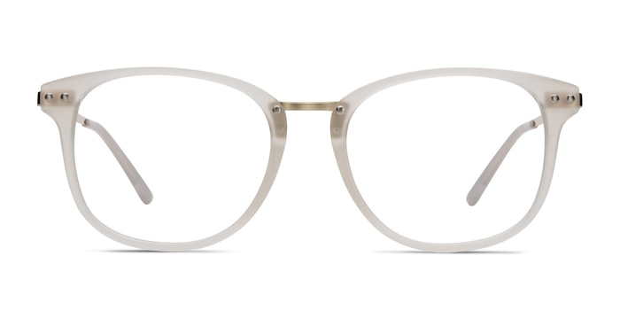Cosmo White Plastic-metal Eyeglass Frames from EyeBuyDirect