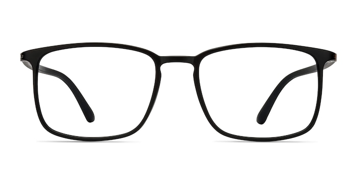 Structure Black Plastic Eyeglass Frames from EyeBuyDirect