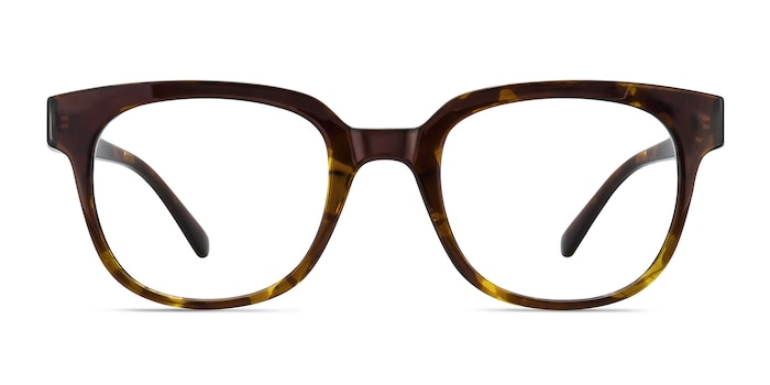 Flashback Honey Tortoise Plastic Eyeglass Frames from EyeBuyDirect