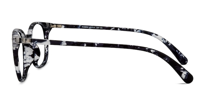 Hubris Black Floral Plastic Eyeglass Frames from EyeBuyDirect