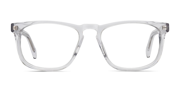 Rhode Island Clear Acetate Eyeglass Frames from EyeBuyDirect