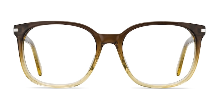 Absolutely Brown Acetate Eyeglass Frames from EyeBuyDirect