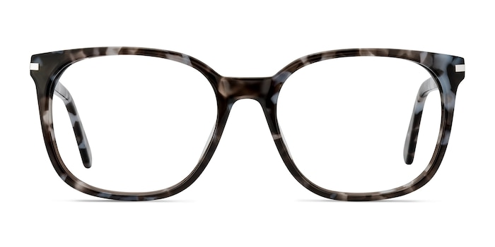Absolutely Gray Floral Acetate Eyeglass Frames from EyeBuyDirect