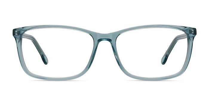 Constellation Clear Blue Acetate Eyeglass Frames from EyeBuyDirect