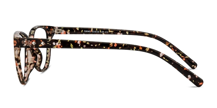 Dame Floral Plastic Eyeglass Frames from EyeBuyDirect
