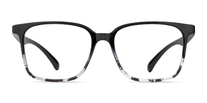 Blocks Black Clear Plastic Eyeglass Frames from EyeBuyDirect