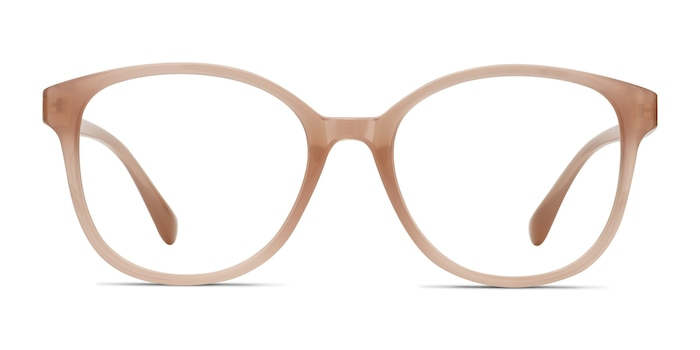 The Beat Pink Plastic Eyeglass Frames from EyeBuyDirect