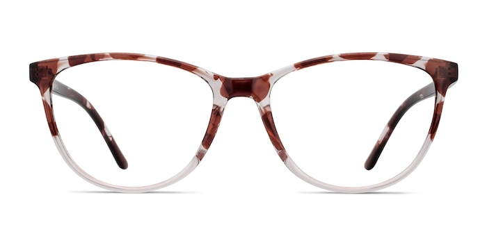 Release Floral Plastic Eyeglass Frames from EyeBuyDirect