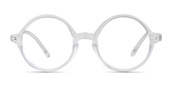 Years Clear Plastic Eyeglass Frames from EyeBuyDirect