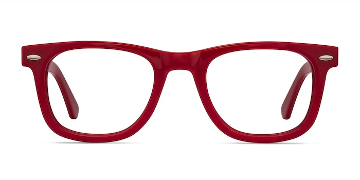 Blizzard Raspberry Acetate Eyeglass Frames from EyeBuyDirect