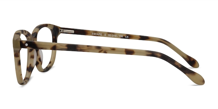 Escape Matte Tortoise Acetate Eyeglass Frames from EyeBuyDirect