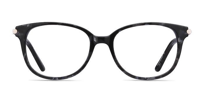 Jasmine Gray Floral Acetate Eyeglass Frames from EyeBuyDirect